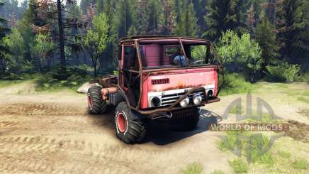 KamAZ Mongo v1.1 for Spin Tires