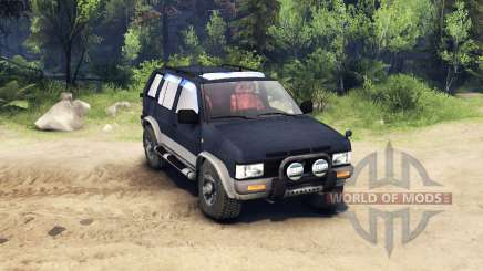 Nissan Terrano I V6-3000 R3 for Spin Tires