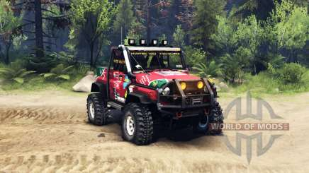 UAZ hunter trial for Spin Tires