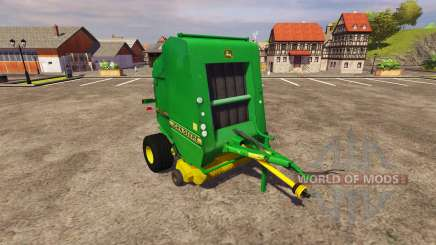 Baler John Deere 590 v2.0 for Farming Simulator 2013
