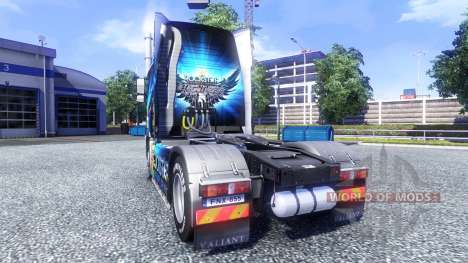 Color-Rockstar Energy Drink - on tractor Volvo for Euro Truck Simulator 2