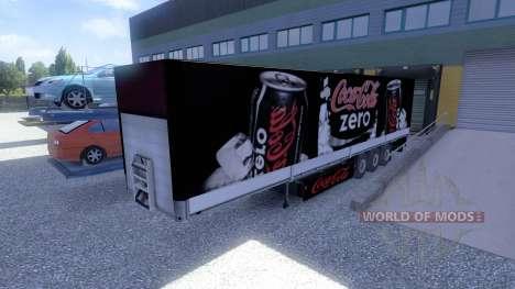 Skins-Winston & Coca Cola - trailers for Euro Truck Simulator 2