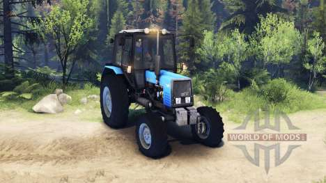 MTZ Belarus 1025 for Spin Tires