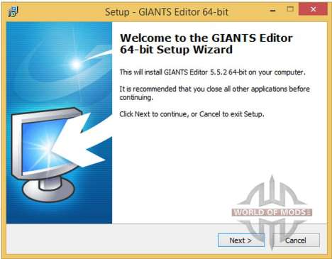 GIANTS Editor v5.5.2 64bit for Farming Simulator 2013