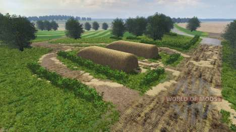 Russian map v2.0 for Farming Simulator 2013