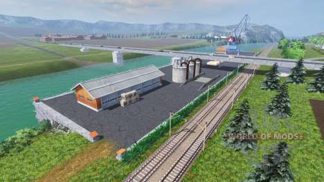 Location On the river for Farming Simulator 2013