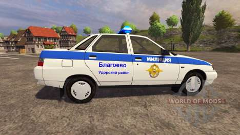 VAZ 2110 Police for Farming Simulator 2013