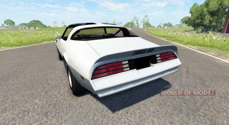 Pontiac Firebird Trans Am 1977 for BeamNG Drive