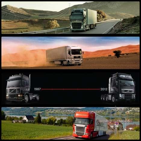 Boot screens for Euro Truck Simulator 2