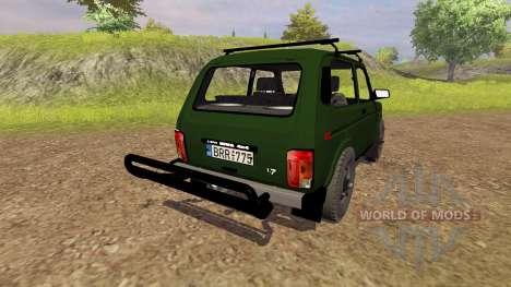 VAZ 2121 Niva for Farming Simulator 2013