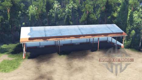 Carport instead of a garage for Spin Tires