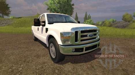 Ford F-350 v2.0 for Farming Simulator 2013