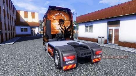 Color-Dream Express - truck MAN TGX for Euro Truck Simulator 2