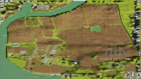 The Location Of The Village for Farming Simulator 2013