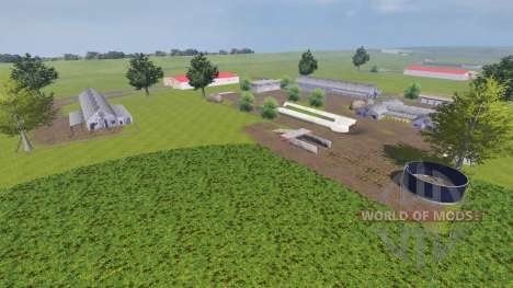 The Location Of Chernobyle for Farming Simulator 2013