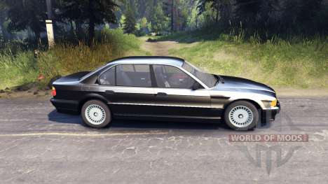 BMW 750Li E38 for Spin Tires