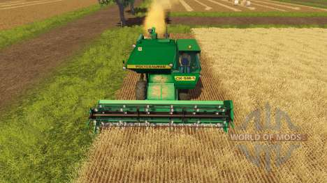 СК 5М 1 Hива ПУН green for Farming Simulator 2013