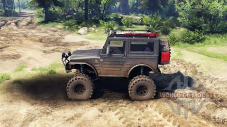 Suzuki Samurai LJ880 dirty black for Spin Tires