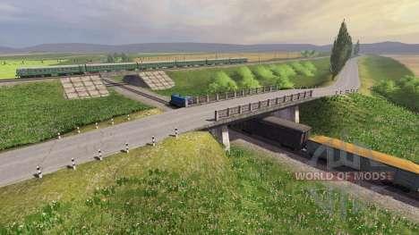 Location Samara-Volga for Farming Simulator 2013