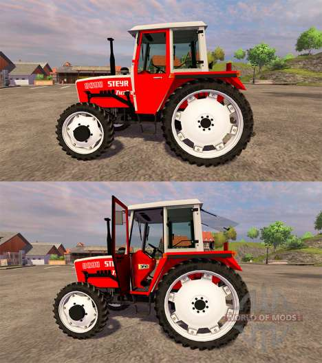 Steyr 8090A Turbo SK1 FL for Farming Simulator 2013