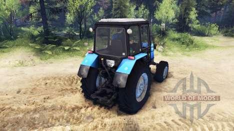 MTZ Belarus 1025 for Spin Tires