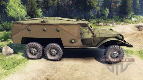 BTR 152 for Spin Tires