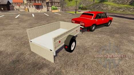 VAZ 2107 for Farming Simulator 2013