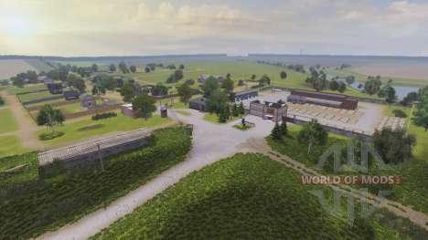 Location the Farm Dawn v2.0 for Farming Simulator 2013