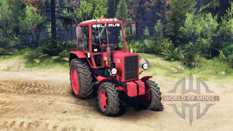 MTZ Belarus 82.1 for Spin Tires