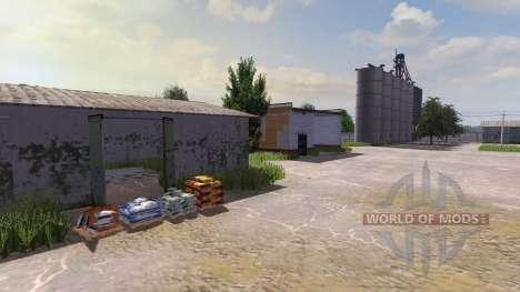 Map SEC Borki agro for Farming Simulator 2013