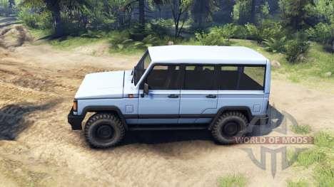 UAZ-3170 v1.1 for Spin Tires