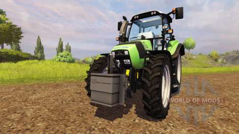 Opposed to 900 kg for Farming Simulator 2013