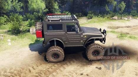 Suzuki Samurai LJ880 black for Spin Tires