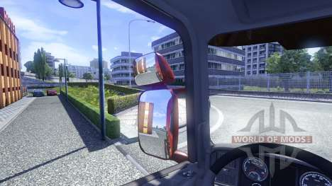 Mirrors for Scania for Euro Truck Simulator 2