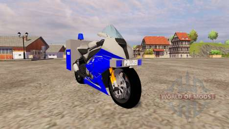 BMW Polizei for Farming Simulator 2013