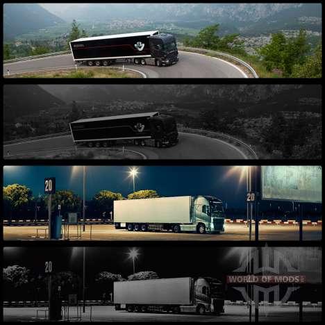 Boot screens v2 for Euro Truck Simulator 2