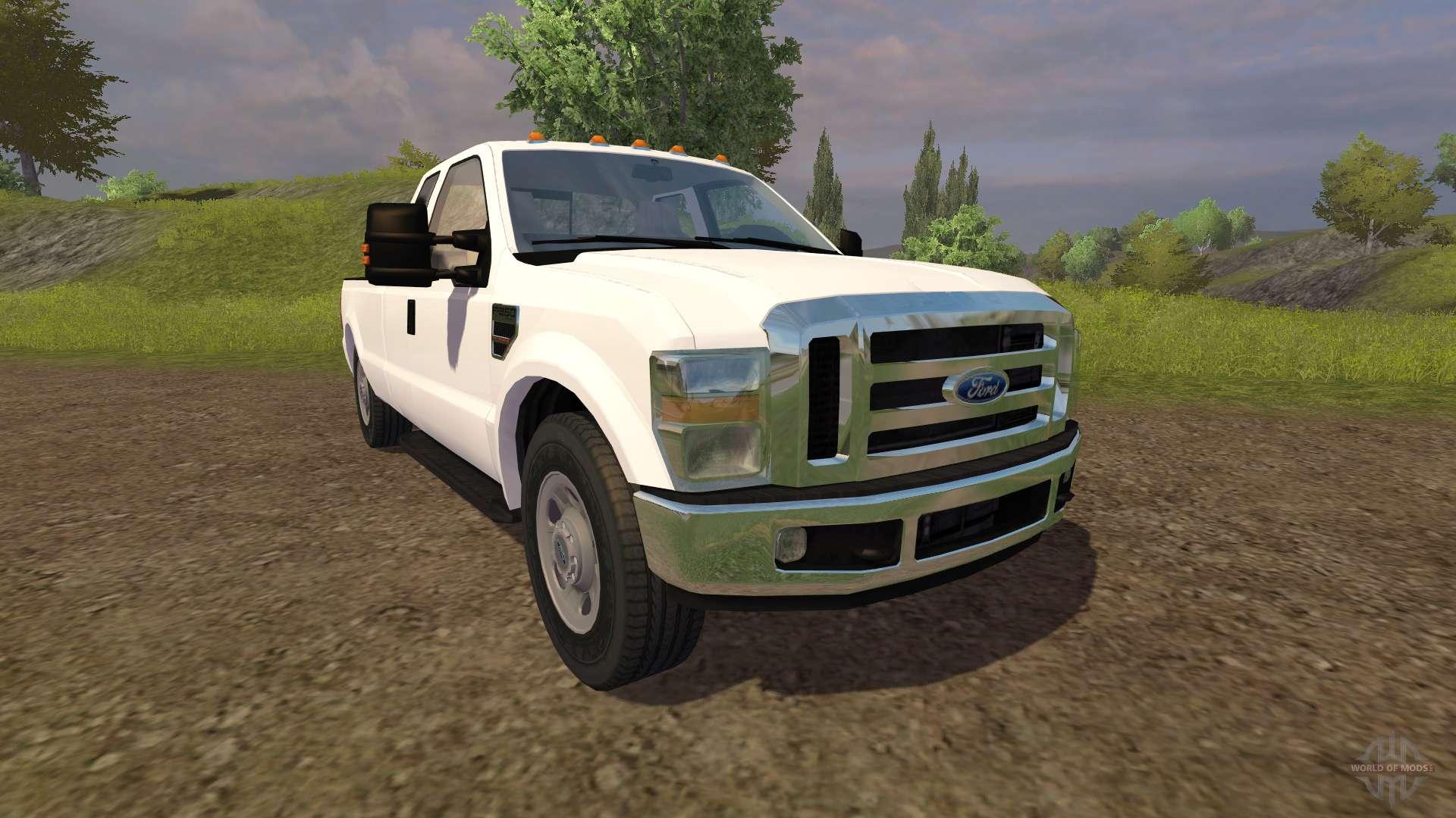 Ford Farm Trucks Ford F-350 V2.0 For Farming
