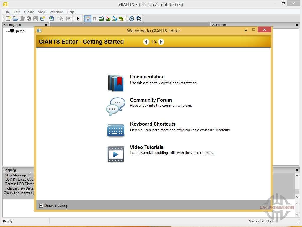 GIANTS Editor v5 5 2 32bit for Farming Simulator 2013