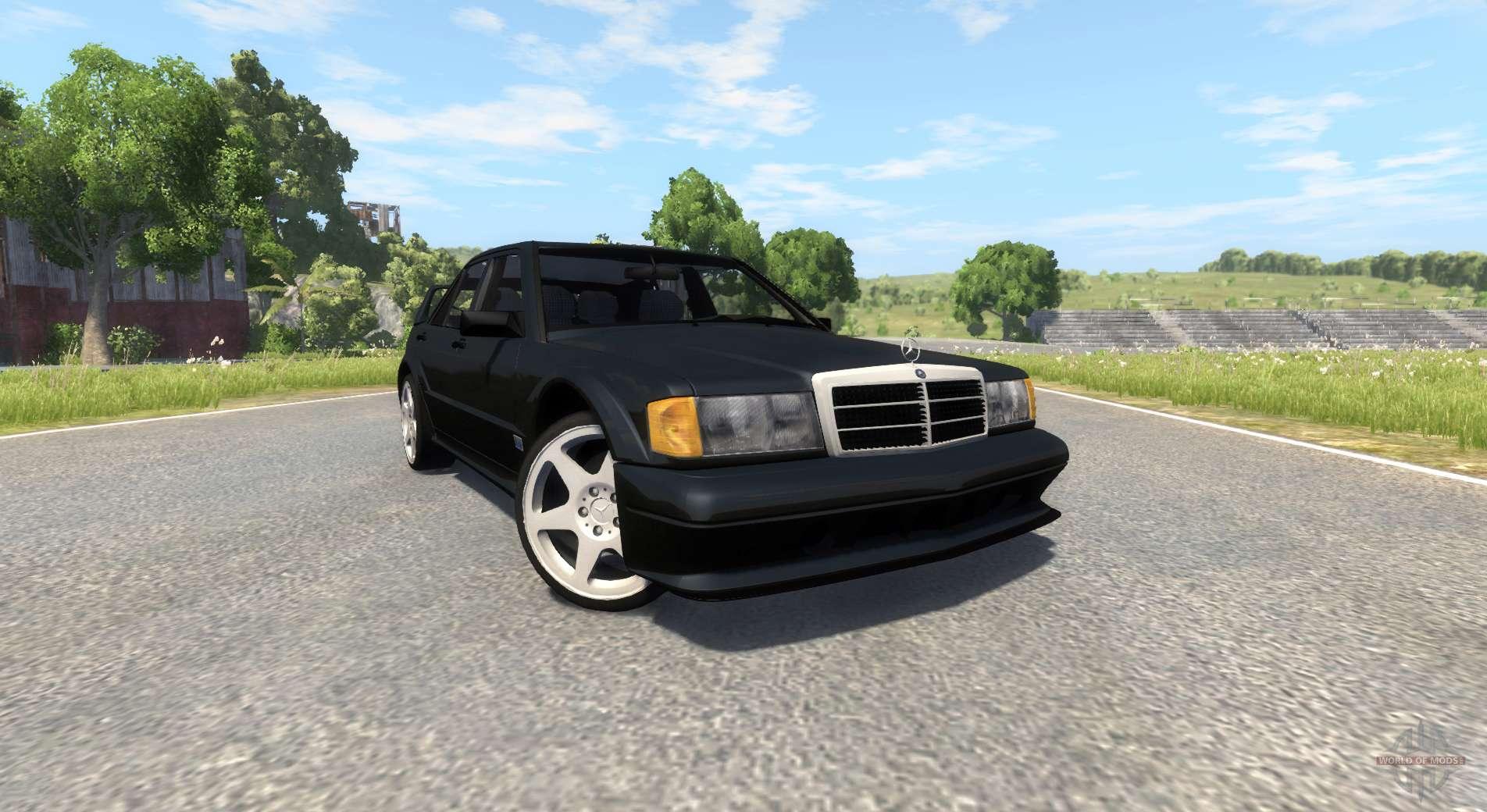 Mercedes benz 190e evolution ii 2 5 1990 for beamng drive for 190e mercedes benz