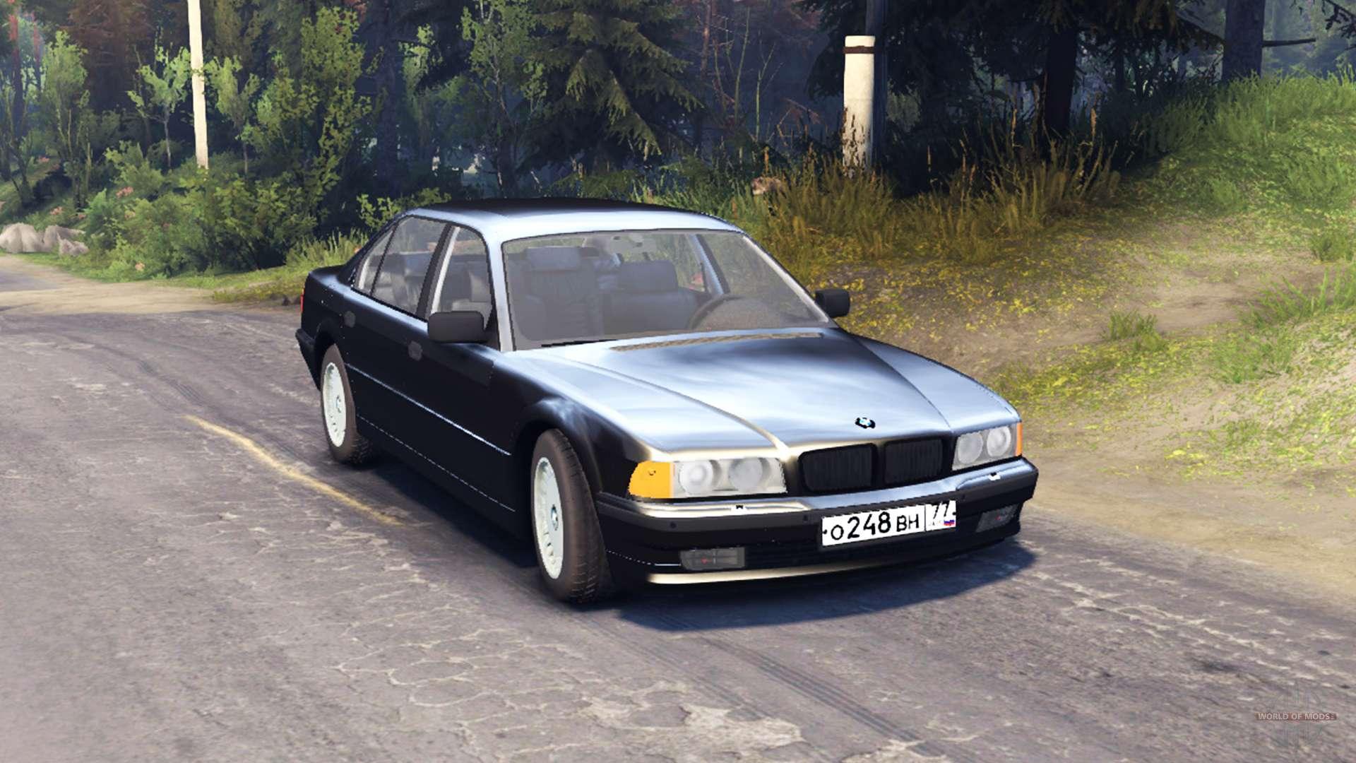 BMW 750Li E38 v60 for Spin Tires