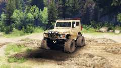 Suzuki Samurai LJ880 dirty desert tan