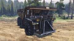 Dump truck 6x6