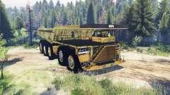 Mining truck 10x10
