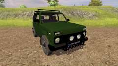 VAZ 2121 Niva for Farming Simulator 2013