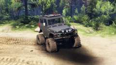 Suzuki Samurai LJ880 black for Spin Tires