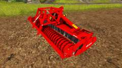 The combination with a planter cultivator