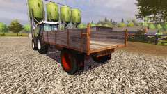 Wooden trailer for Farming Simulator 2013