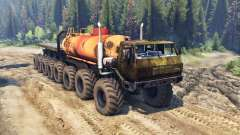 KrAZ A 16x16 for Spin Tires