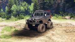 Suzuki Samurai LJ880 dirty black for Spin Tires