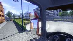 Mirrors for Scania